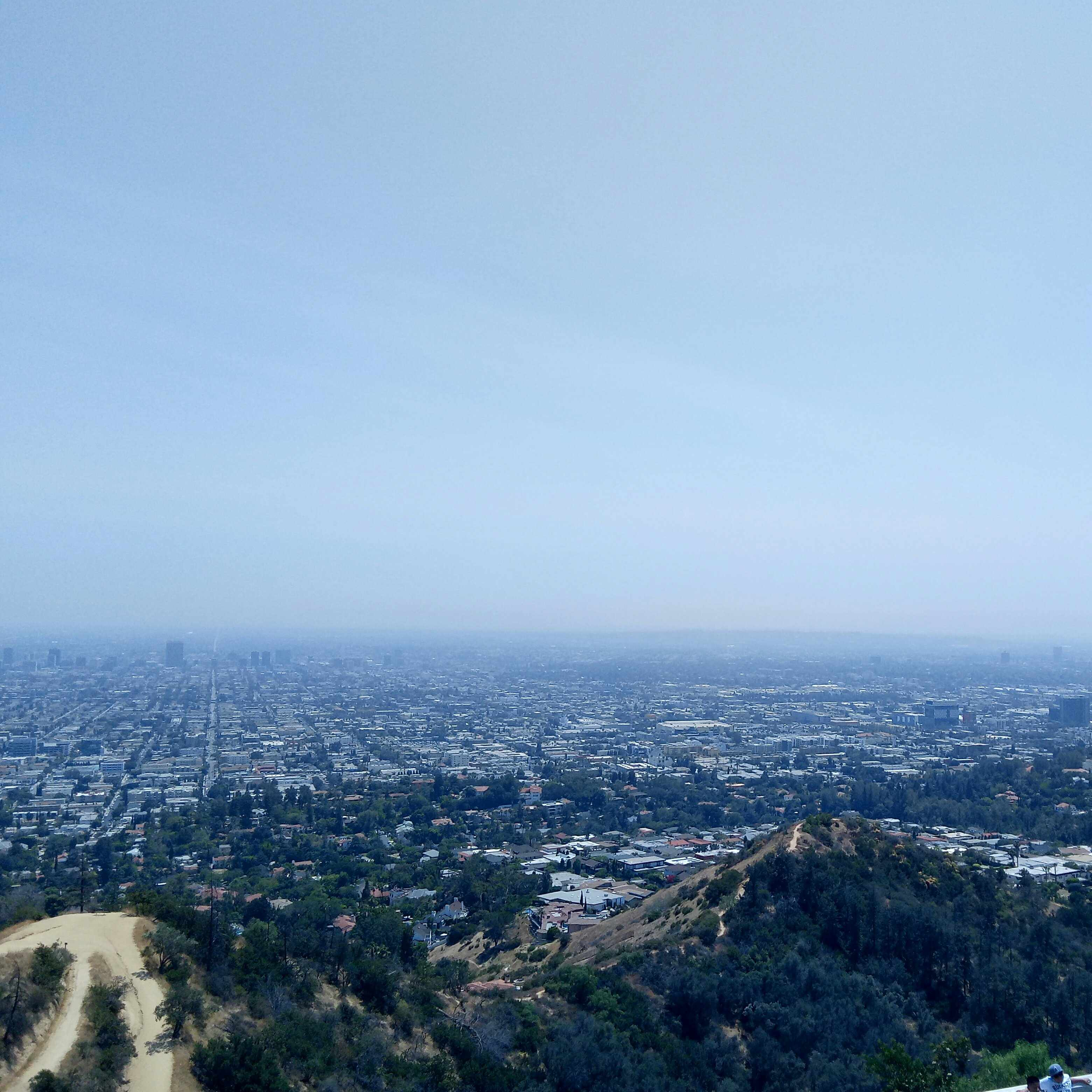An overview of Los Angeles.